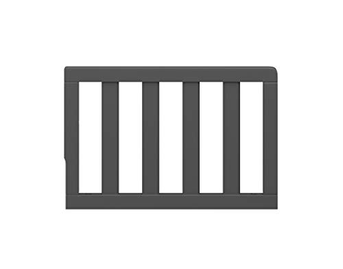 Graco Toddler Guardrail, Safety Guard Rail for Convertible Crib & Toddler Bed, Gray