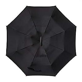ABCCANOPY Inverted Umbrella,Double Layer Reverse Rain&Wind...
