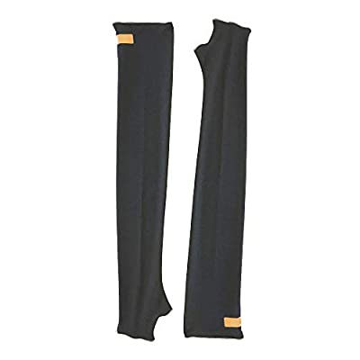 Eclipse Sun Sleeves (Black, Large) by Eclipse