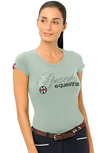 Roxie Sequin Shirt (Farbe: Dusty Green; Größe: XXL)
