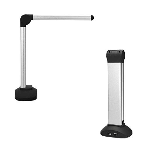 Evazory Portable High Speed USB Document Camera A4 Book Image Scanner avec 8.0MP Camera School Office Library Bank HD High Res