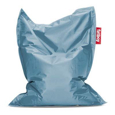 Fatboy® The Original Junior   Pouf pour Chambre ado/Enfants Bean Bag/Coussin/Fauteuil d?intérieur   Ice Blue   130 x 100 cm