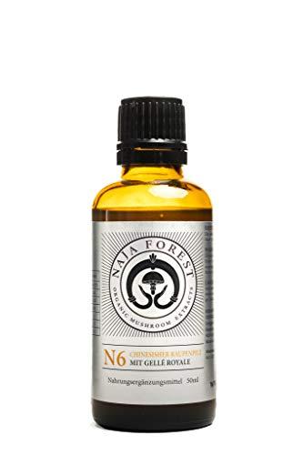 Bio Vitalpilz Mix N6 Cordyceps - Extracto líquido con extracto de jalea Royal (50 ml)