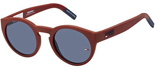 Tommy Hilfiger tj 0003/s, Gafas de Sol Unisex Adulto, Matte Red, 48
