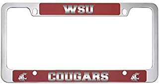 Washington State University -Metal License Plate Frame-Red