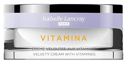 Isabelle Lancray crème de soin riche pour cassants et hydratant pour la peau craquelée I « Vitaminia Veloutée » avec protection UV et coup de vitamine, 50 ml