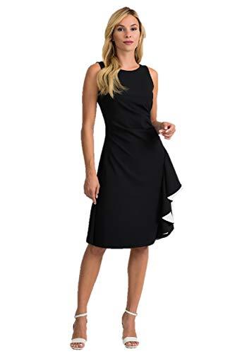 Joseph Ribkoff Black & Vanilla Dress Style 201319 - Spring 2020 Collection (14)