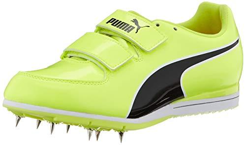 PUMA Evospeed Triple Jump PV 6, Zapatillas de Atletismo Unisex-Adulto, Amarillo (Fizzy Yellow Black 01), 39 EU