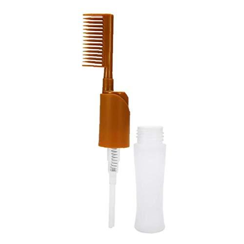 1pc Hair Dye Peigne Profssional Salon Hair Dye Distributeur Bouteille Peigne Bouteille Dye Hair Beauté Applicateur Styling Outil