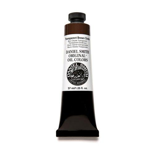 DANIEL SMITH Original Oil Color Paint, 37ml Tube, Transparent Brown Oxide, 284300128