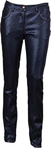 Mathew Williamson Damen Glitzer-Jeans Navy 46 IT/L