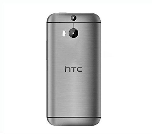 Handyteile24 ✅ Akkudeckel Rückseite Rückschale Batterieabdeckung Deckel Cover Backcover Space Grau für HTC One M8
