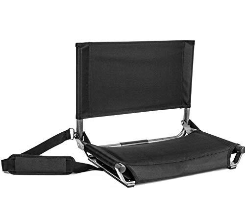 Cascade Mountain Tech Portable Folding Steel Stadium Seats for Bleachers