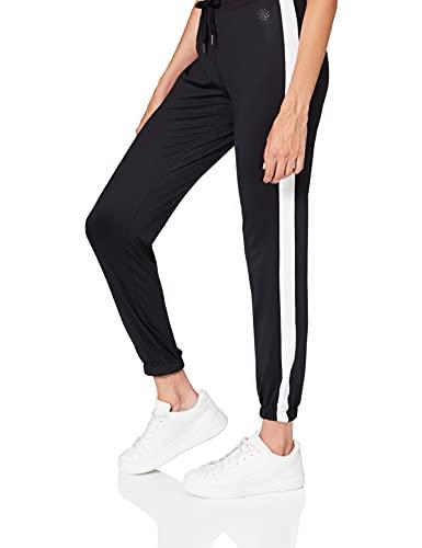 AURIQUE Sfp6-l26 Leggings, Noir (Black/White), 36