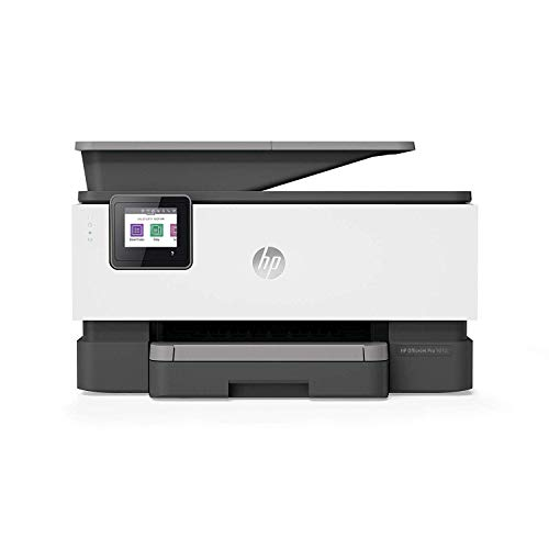 HP OfficeJet Pro 9010 - Impresora multifunción tinta, color, Wi-Fi, Ethernet, gris, compatible con Instant Ink (3UK83B)