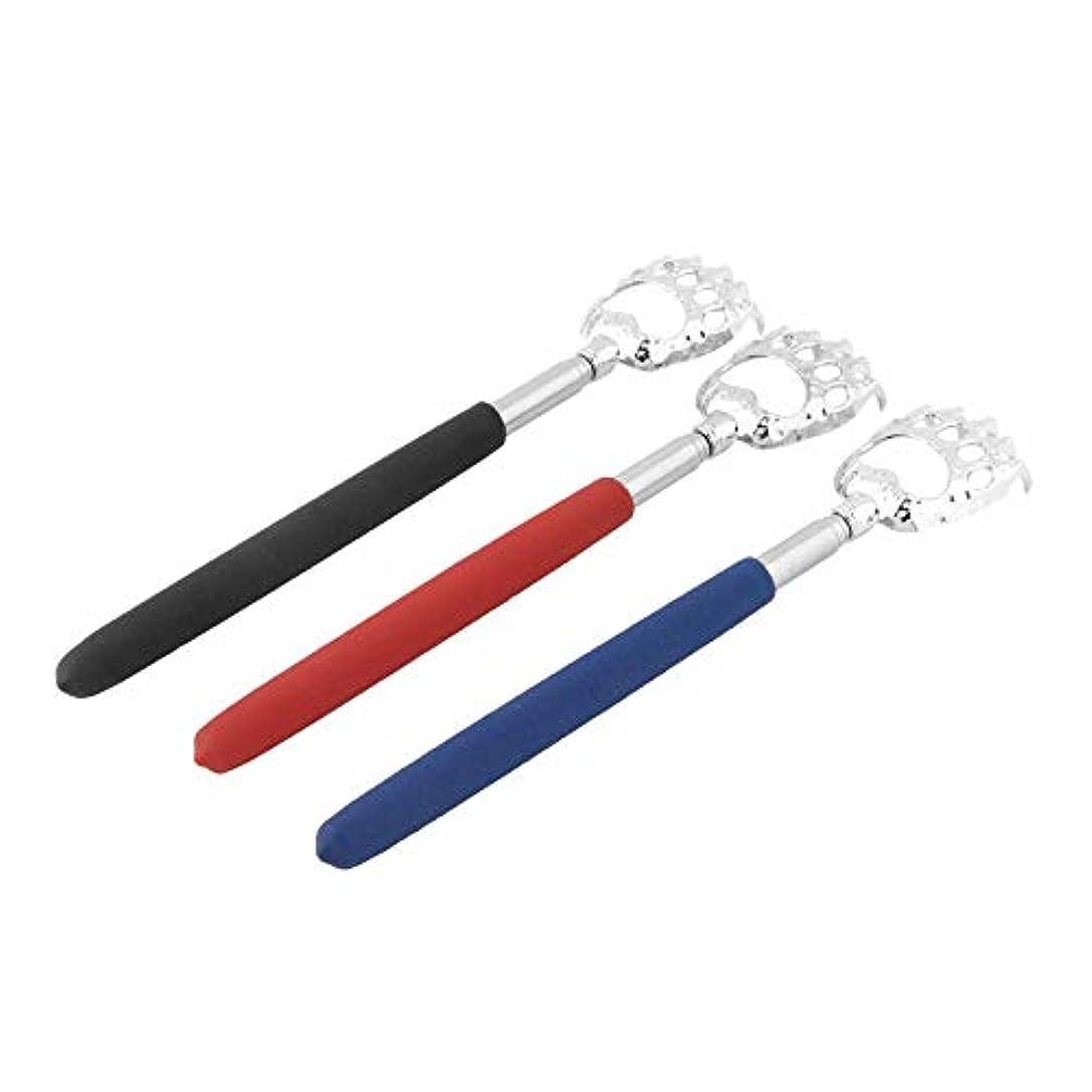 破壊する控える縮れたHot Selling 10pcs Bear Claw healthy Back Scratcher Zinc alloy Portable Extendable Handy Pocket Pen Clip Back Scratcher