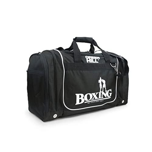 GREEN HILL Boxe Bolsa de Deporte Bolsa de Gimnasio Deportivo Boxing Bolso de Boxeo (L)