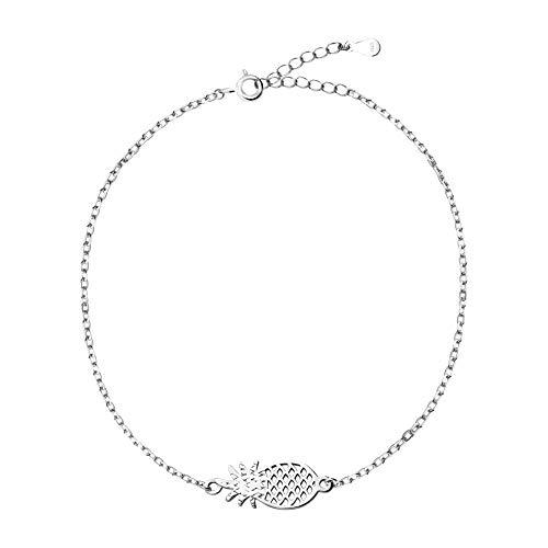 SOFIA MILANI - Bracelet pour Femmes en Argent 925 - avec Pendentif en Forme de Ananas - 30246