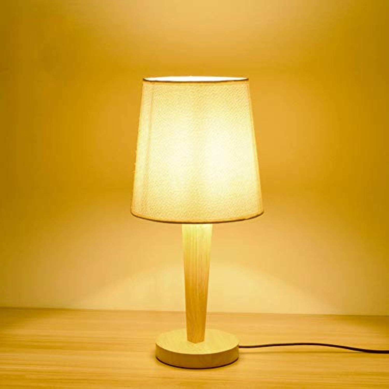 Chenyaohaiyu Tischlampe Tuch Schreibtisch Licht einfache Studie Lampe Schlafzimmer Nachttischlampe Wohnzimmer dekorative Lichter Hotel Licht (Farbe   B)