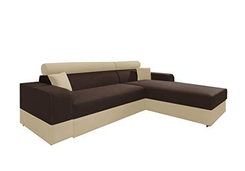 Canapé Beige Tissu Confort
