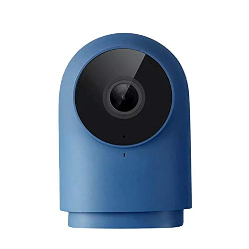 YOUSHI Camera 1080P HD Night Vision Mobile APP Monitoring G2 Smart Home Security Camera (Color : Blue)