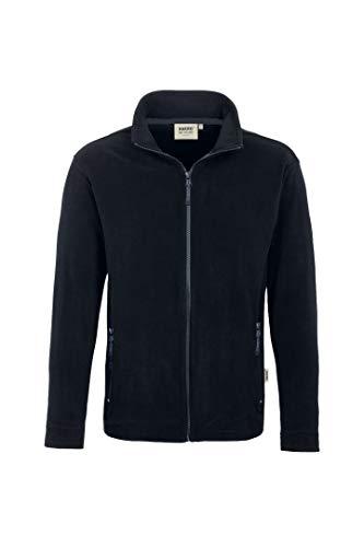 """HAKRO Fleece-Jacke """"Langley"""" - 852 - schwarz - Größe: L"""