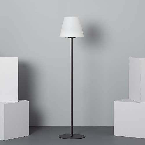 LEDKIA LIGHTING Lámpara de Pie LED Solar Larso Blanco Cálido 2800K - 3200K