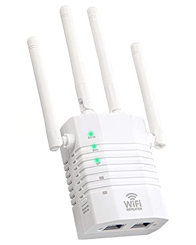 VOMONO WiFi Booster Range Extender, 1200Mbps High Speed WiFi Extender with...