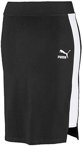 Puma Classics Tight Skirt Falda, Mujer, Black, XS