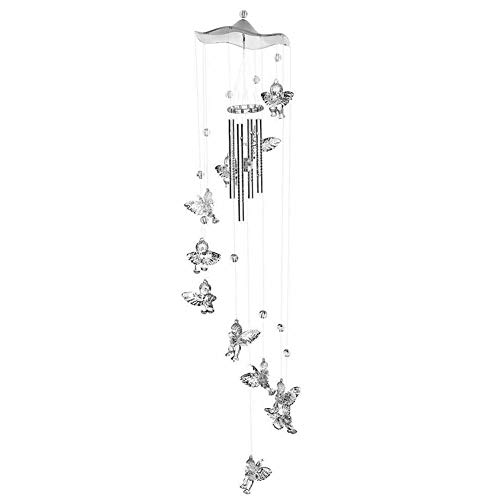 Angel Large Wind Chimes Bells Wind Chime Tube Hanging Ornament Windbell Gift Yard Garden Home Decor