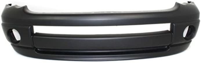 Front Bumper Cover Compatible with 2002-2005 Dodge Ram 1500/Ram 2500 2003-2005 Primed New Body Style Type 1