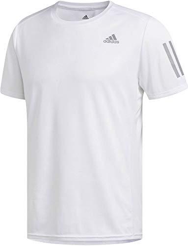 Adidas Response Tee M,Camiseta para Hombre, Blanco, XL