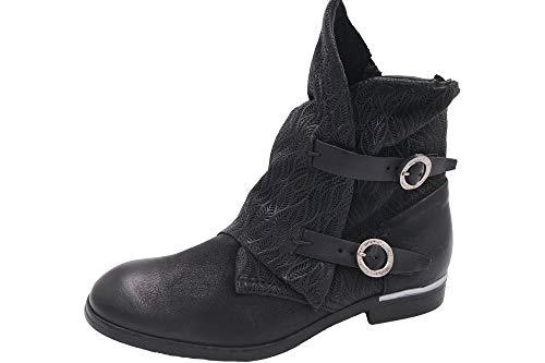 Mjus Damen Stiefelette Schwarz Sommer Stiefel 743213, EU 41