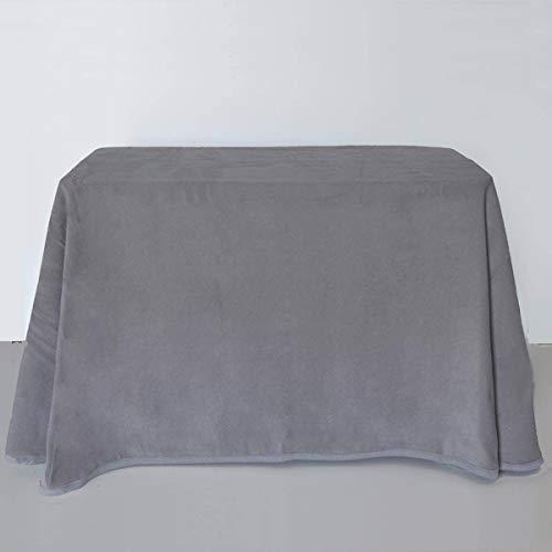 Lanovenanube - Falda Mesa Camilla Invierno Rectangular 70x120 - Gris