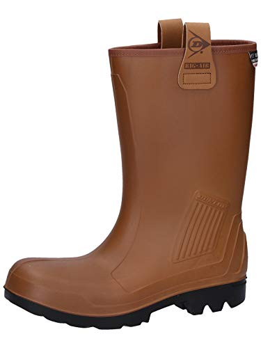 Dunlop C462743FL S5 RIGAIR GEV.LRS 46 - Botas de seguridad unisex, color marrón (bruin), talla 47