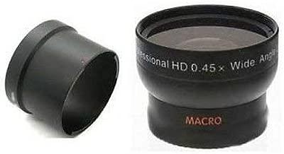 Wide Angle Lens + Tube for Kodak Z612, Kodak Z712 IS Z812 IS Z1012 IS Z8612, Kodak ZD8612 IS