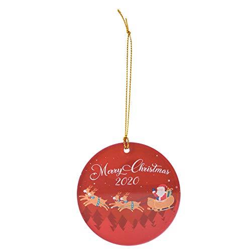 Fanteecy Christmas Ornaments Quarantine, 2020 Christmas Tree Pendant Hanging Home Ornament Christmas Decoration