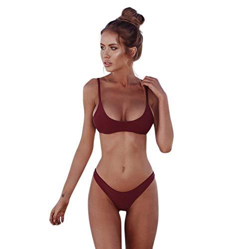 Zwemkleding Online Kopen Vrouwen Push Up Padded Bra Bandage Bikini Set Modieuze Completi Badpak Badmode 2019 Dameskleding