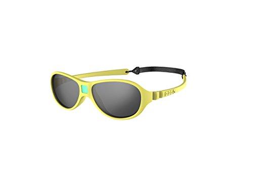 Ki Et La Ki ET LA - Babysonnenbrille im Stil Jokaki - 100% unzerbrechlich - Gelb - 12-30 Monate