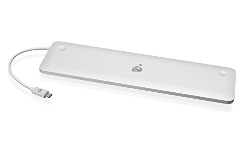 IOGEAR USB-C Ultra-Slim Dual Display Docking Station with Power Delivery, GUD3C02