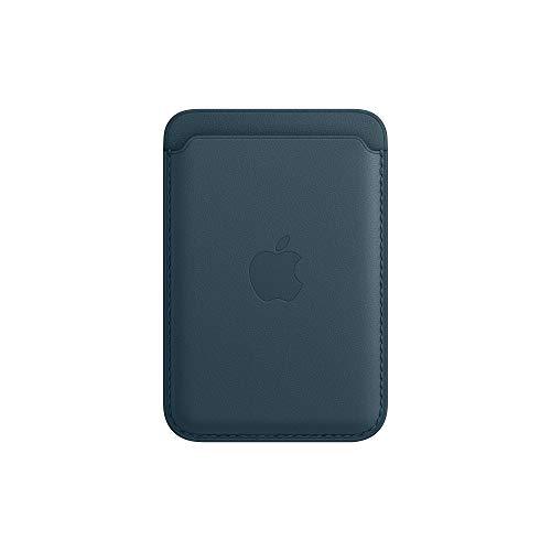 Apple Portafoglio MagSafe inpelle (per iPhone) - Blu Baltico