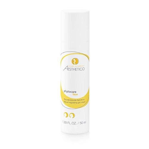 AESTHETICO phytocare - Hautklärende Gelcreme für Akne, reduziert Fettglanz, gegen Mitesser, 50 ml