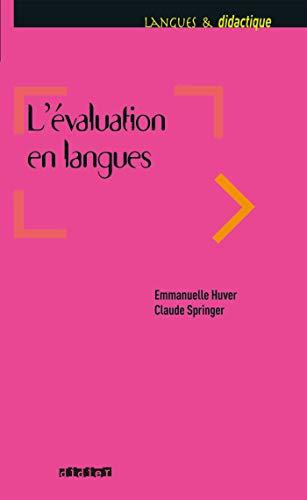 L'évaluation en langues - Livre