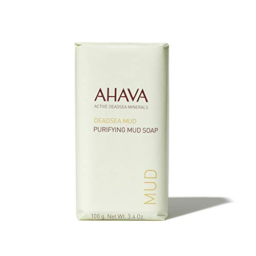 Ahava Deadsea Mud Purifying Mud Soap, 1er Pack (1 x 100 g)