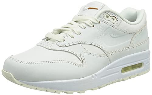 Nike Air MAX 1, Zapatillas Deportivas Mujer, Blanco, 38 EU