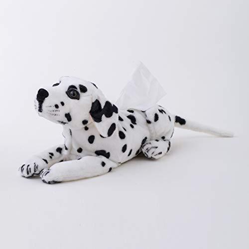 huobeibei Simulación de Felpa Animales de Peluche Beagle Dog Tissue Box Cover Home Shop Decoración Regalo Creativo 46cm A