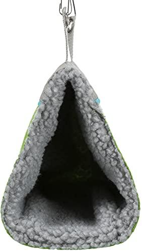 Trixie 6276 Kuschelhöhle für Hamster, 9 × 12 × 16 cm