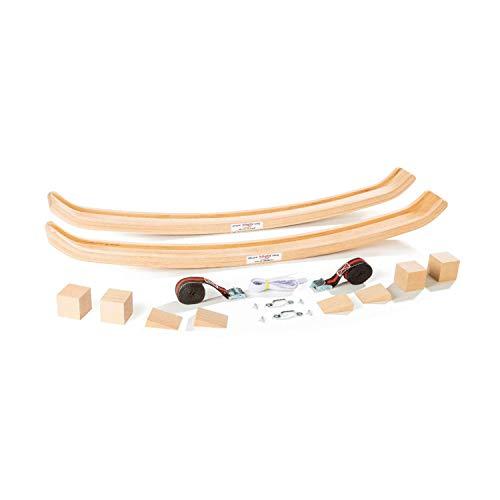 Köglis Allround Swing das Schaukelding Sp550a - Untergestell aus Holz für - Kinderbett - Babywiege - Babywippe - Schaukelsessel - beugt gezielt Schreibabys vor - bis 250KG belastbar inkl Sonderzubehör