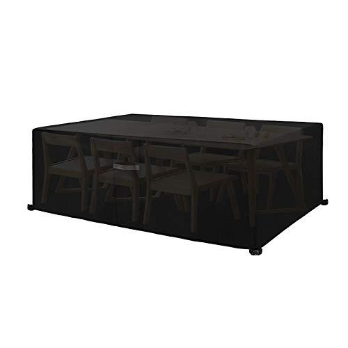 IJNBHU Funda Exterior Jardin, Exterior Conjuntos de Muebles Cubierta Impermeable para Sofa de Jardin, al Aire Libre, Patio, Plazas Funda para Sofa de Esquina, in PU240*240 * 25cm