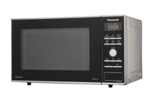 Panasonic NN-GD342BEPG Forno a Microonde, 23 lt, Inverter Grill, 950 W, Nero